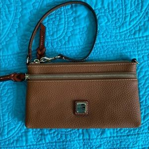 COPY - Dooney and Bourke pebble leather wristlet